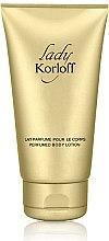 Profumi e cosmetici Korloff Paris Lady Korloff - Lozione corpo