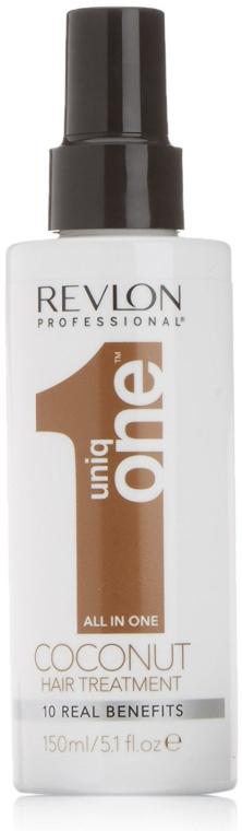 Maschera spray per capelli, con profumo di cocco - Revlon Revlon Professional Uniq One Coconut Hair Treatment
