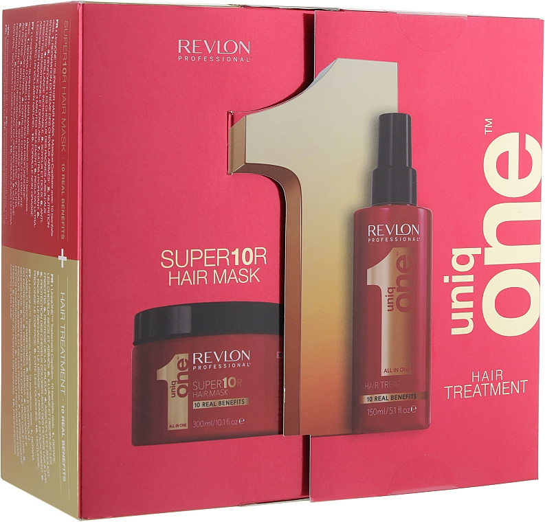 Set - Revlon Revlon Professional Uniq One Duo Kit (mask/300ml + treat/150ml)