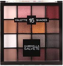 Profumi e cosmetici Palette ombretti - Gabriella Salvete Palette 16 Shades II