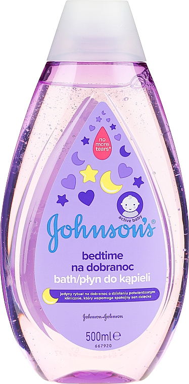 "Bagnodoccia per bambini ""Bedtime"" - Johnson's Baby"