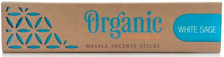 Bastoncini di incenso - Song Of India Organic Goodness White Sage