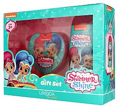 Profumi e cosmetici Set - Uroda For Kids Shimmer & Shine (sh/gel/250ml + sponge)