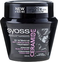 Profumi e cosmetici Maschera capelli - Syoss Ceramide Complex Intensive Anti-Breakage Treatment