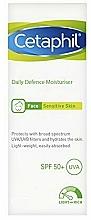 Profumi e cosmetici Crema viso - Cetaphil Daily Defence Moisturiser SPF50+