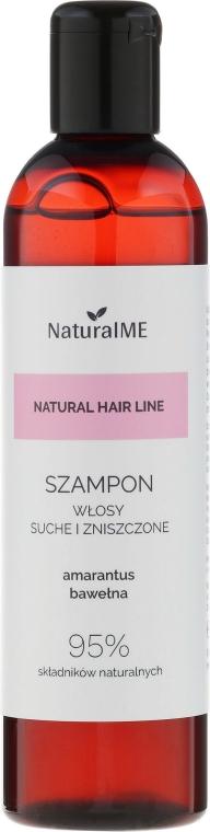 Shampoo per i capelli secchi e danneggiati - NaturalME Natural Hair Line Shampoo