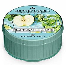 Profumi e cosmetici Candela profumata - Kringle Candle Cilantro, Apple & Lime