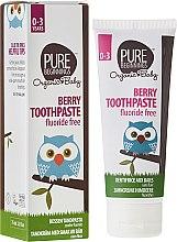 """Profumi e cosmetici Dentifricio per bambini """"Bacche"""" - Pure Beginnings Baby Berry Toothpaste"""
