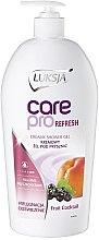 Profumi e cosmetici Crema doccia - Luksja Care Pro Refresh Fruit Cocktail Creamy Shower Gel