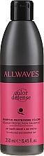 Profumi e cosmetici Shampoo per capelli colorati - Allwaves Color Defense Colour Protection Shampoo