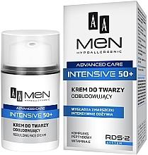 Profumi e cosmetici Crema viso rigenerante - AA Men Advanced Care Intensive 50+ Face Cream Rebuilding