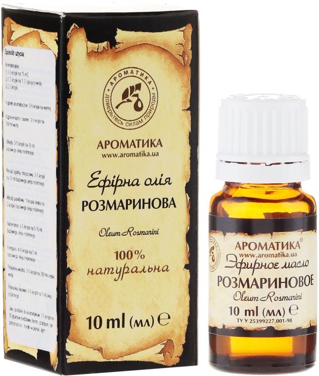 """Olio essenziale """"Rosmarino"""" - Aromatiche"""