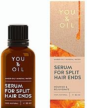 Profumi e cosmetici Siero per doppie punte - You & Oil Amber. Serum For Split Hair Ends