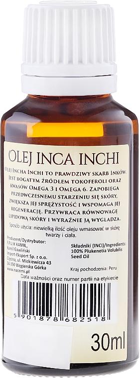 Olio di Inca-Inchi - Nacomi Olej Inca Inchi Odbudowa Kolagenu Skóry — foto N2