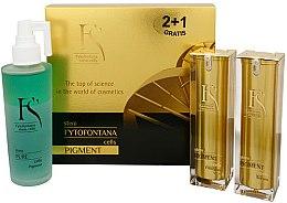 Profumi e cosmetici Set - Fytofontana Stem Cells Pigment Set (ser/30ml + emulsion/30ml + wat/125ml)