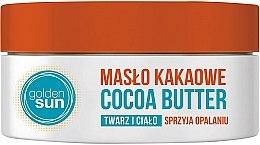 Profumi e cosmetici Burro di cacao per viso - Golden Sun