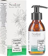 Profumi e cosmetici Olio da massaggio con cannabis - Sostar Cannabidiol Oil Cannabis Extract