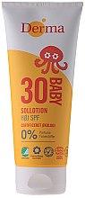 Profumi e cosmetici Crema solare per bambini - Derma Sun Baby Sollotion SPF30