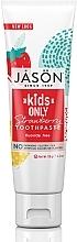 "Profumi e cosmetici Dentifricio per bambini ""Fragola"" - Jason Natural Cosmetics Kids Only Toothpaste Strawberry"