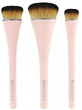 Profumi e cosmetici Set di pennelli per trucco, 3 pz - EcoTools 360 Ultimate Blend