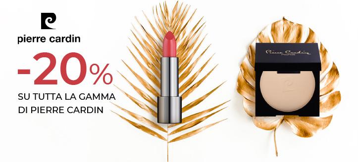 -20% di sconto su tutta la gamma di prodotti Pierre Cardin. I prezzi sul nostro sito comprendono gli sconti