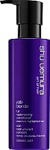 Profumi e cosmetici Balsamo per ripristinare il colore dei capelli - Shu Uemura Art Of Hair Yubi Blonde Colour Reviving Conditioner