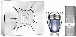 Profumi e cosmetici Paco Rabanne Invictus - Set (edt/100ml + deo/spr/150ml)