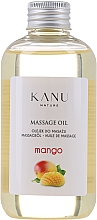 "Profumi e cosmetici Olio da massaggio ""Mango"" - Kanu Nature Mango Massage Oil"