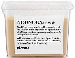 Profumi e cosmetici Maschera nutriente - Davines Nounou Nourishing Reparing Mask