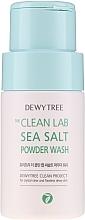 Profumi e cosmetici Polvere detergente viso con sale marino - Dewytree The Clean Lab Sea Salt Powder Wash