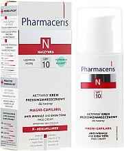 Profumi e cosmetici Crema attiva antirughe per il viso - Pharmaceris N Magni-Capilaril Active Anti-Wrinkle Cream