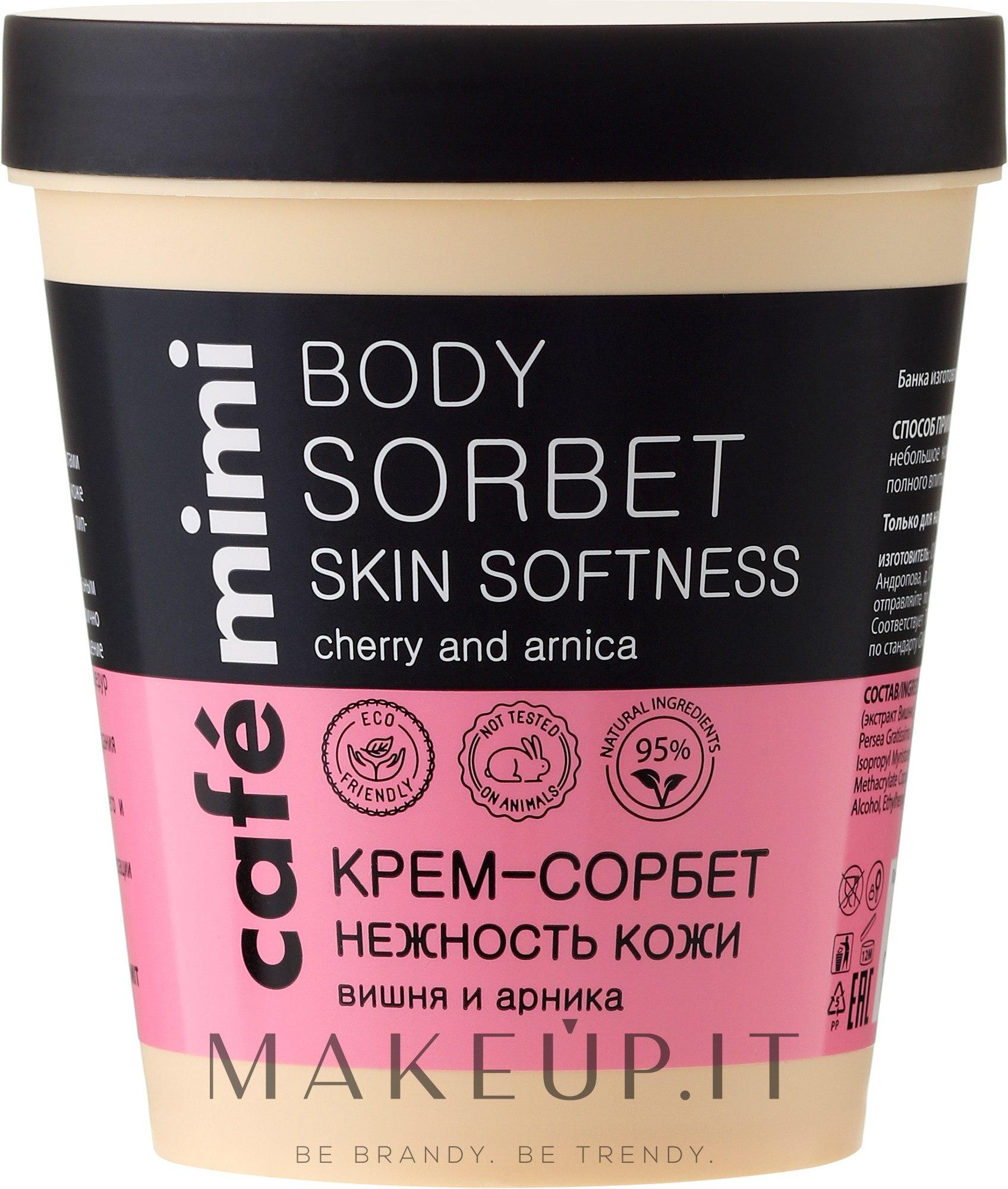"""Crema-sorbetto """"Tenerezza della pelle"""" - Cafe Mimi Body Sorbet — foto 220 ml"""