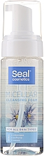 Profumi e cosmetici Schiuma micellare per tutti i tipi di pelle - Seal Cosmetics Micellar Cleansing Foam