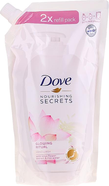 """Sapone liquido """"Fiore di loto"""" - Dove Nourishing Secrets Glowing Ritual Hand Wash (doy pack)"""