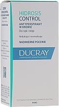 Profumi e cosmetici Crema antitraspirante per mani e piedi - Ducray Hidrosis Control Antiperspirant Cream