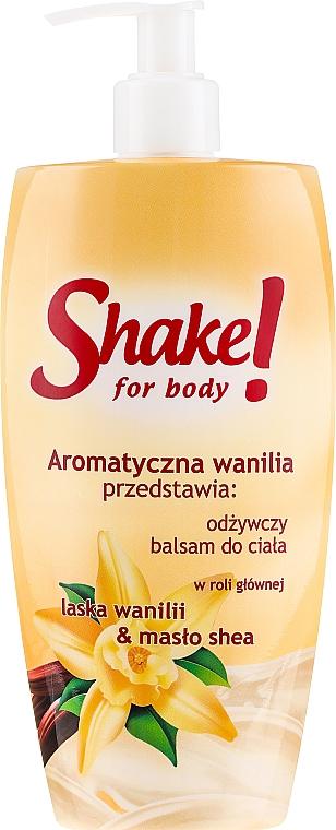 """Lozione corpo """"Vanilla"""" - Shake for Body Regenerating Body Lotion Vanilla"""