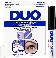 Profumi e cosmetici Colla per ciglia finte, trasparente - Ardell Duo Quick Set