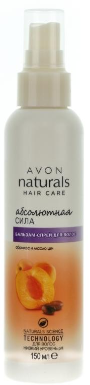 """Balsamo-spray per capelli """"Forza assoluta, albicocca e burro di karitè"""" - Avon"""