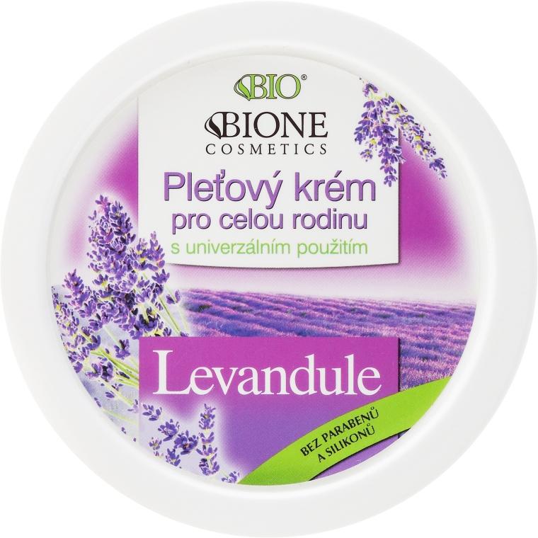 Crema viso alla lavanda - Bione Cosmetics Lavender Facial Cream Whole Family