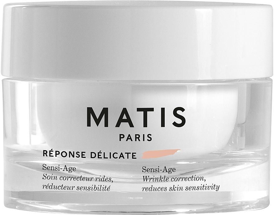 Crema lenitiva antirughe per pelli sensibili - Matis Reponse Delicate Sensi-Age