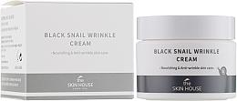 Profumi e cosmetici Crema nutriente al collagene - The Skin House Black Snail Wrinkle Cream