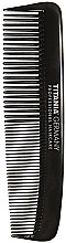 Profumi e cosmetici Pettine tascabile, per uomo, 12,5 cm, nero - Titania Havannah