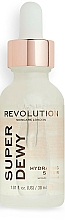 Profumi e cosmetici Siero viso con glucosamina - Revolution Skincare Superdewy Hydrating Serum