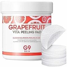 Profumi e cosmetici Dischetti-peeling detergenti con estratto di pompelmo - G9Skin Grapefruit Vita Peeling Pad
