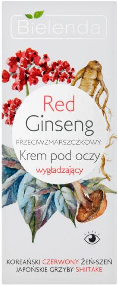 Crema contorno occhi con ginseng rosso - Bielenda Red Ginseng