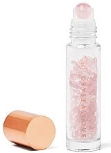 Profumi e cosmetici Flacone con cristalli di quarzo rosa, 10 ml - Crystallove