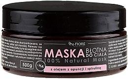 Profumi e cosmetici Maschera corpo al fango con spirulina, olio di fico d'India e acido - E-Fiore Body Mask With Spirulina, Opuntia Oil And HA Acid