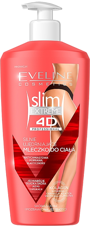 Latte corpo rassodante - Eveline Cosmetics Slim Extreme 4D