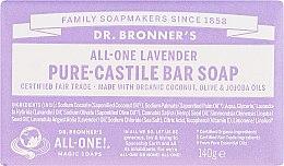 """Profumi e cosmetici Sapone """"Lavanda"""" - Dr. Bronner's Pure Castile Bar Soap Lavender"""