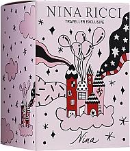 Profumi e cosmetici Nina Ricci Nina - Set (edt/80ml + edt/roll/10ml)